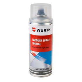 Wurth Silver Lacquer Spray Paint