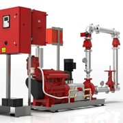Fire Fighting Pumps | Single Diesel & Electric