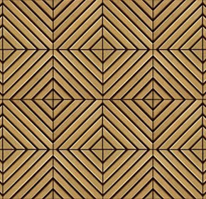 Teak Wood Tile - Sakkho - AH