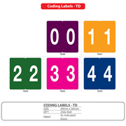 Medical Coding Identification Labels for Filing