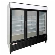 Triple Glass Door Upright Display Fridge