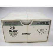 MAXONTM Synthetic Absorbable Sutures - 2/0 C-6 26mm 36's