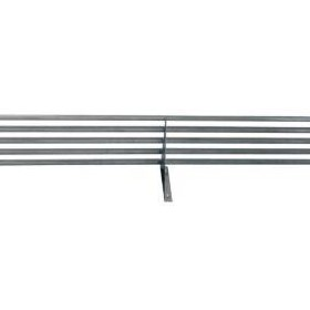 2400mm Pipe Wall Shelf w/ Brackets