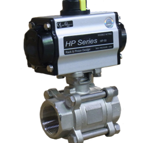 Midwest Valves & Controls | Ball Valves - Actuated ball