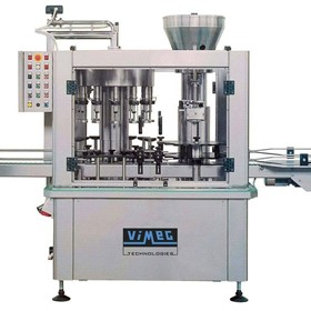 Monoblock Filler and Corking Machine