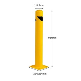 Safety Bollard - Barrier Post