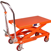 Hydraulic Lift Table Trolley 750kg Capacity