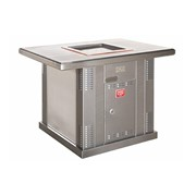 Commercial BBQ & Hotplate | Milo Single BBQ Pedestal With Extended Top