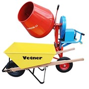 Cement Mixer and Wheelbarrow Combo | 3.5 Lightning