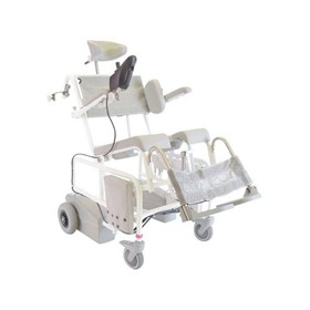 Shower Chair | M2 Motorised Electric Tilt In Place Commode Chair