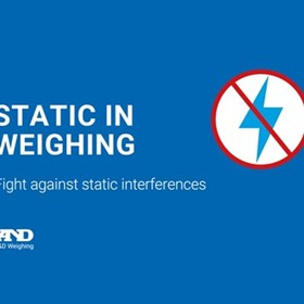 Quick Ion Technology – the Anti-Static Solution in Weighing