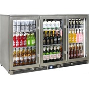 Outdoor Rhino ENVY 3 Door Bar Fridge |ENV3H-SS
