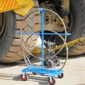 Twin Lock Ring Trolley with Loading Power | Tuff Safe | Vehicle Safety