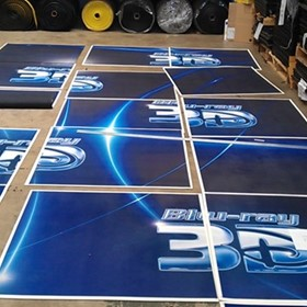 Exhibition Tile Printed with Your Logo