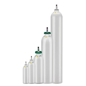 Medical Oxygen Gas - 275L Cylinder (B size)