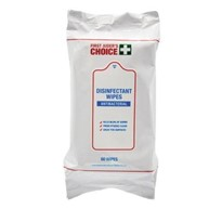 First Aider's Choice Anti-Bacterial Disinfectant Wipes