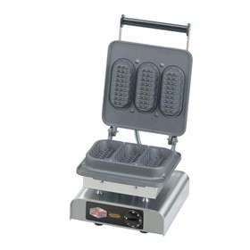 NEE-12-40722DT Baguette Waffle Commercial Waffle Iron