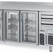 Under Counter Glass Door Tall Refrigerators