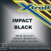 Impact Black Fast Drying Enamel Paint