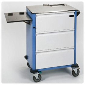 Flexi-Shelf Medication Cart