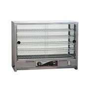 Pie Warmer Square Top with Glass Doors | 100 Pie RO-PA100