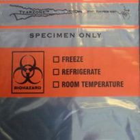 Clear Biohazard Bags | 3-Wall TearZone