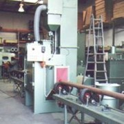 Turbine Blast Machines - Pipe Cleaning