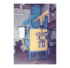 Turbine Blast Machines - Hanger Machine
