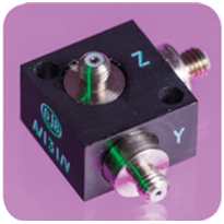 Triaxial Piezo-Tronic IEPE Accelerometer - A/131/V | Applied