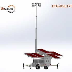Dominator Solar Lighting Tower Trailer 750