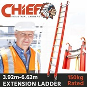 CHIEF Fibreglass Extension Ladders
