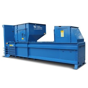 Semi-Automatic Horizontal Baler | WastePac HX400-38T