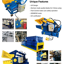 UK Brand Alligator Shears, Metal Shearing Machine - EMC-400