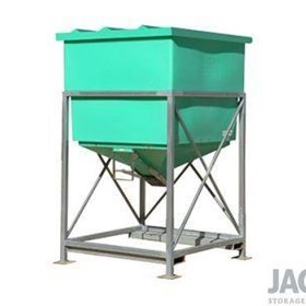 915L JACKY® Centre Discharge Hopper