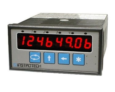 Instrotech 8-digit Universal Analogue & Digital Input Display