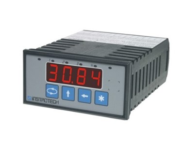 Instrotech Universal Programmable Panel Meter 4-digit Display