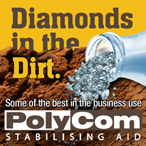 PolyCom Stabilising Aid: road maintenance advantages