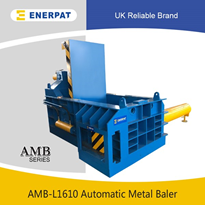 Automatic Scrap Metal Baler, Aluminum Baling Press, Metal Compactor
