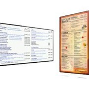 POS Systems Menu Board Display | StarrBoard