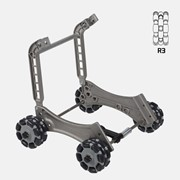 Rotatruck Conversion Kit 4xRC R3 | Hand Trolley | Omniwheels