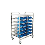 Meal Delivery Trolley 6 Tier