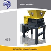 Enerpat Commercial Tin Cans Two Shaft Shredder | MSB-E11