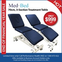 3-Section Examination Treatment Table | Medbed Professional Table