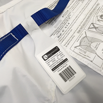 Sling ID Barcode Tag