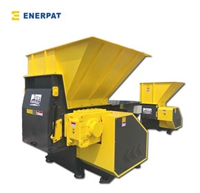 UK Enerpat Single Shaft Shredder, Aluminum Swarf Shredder