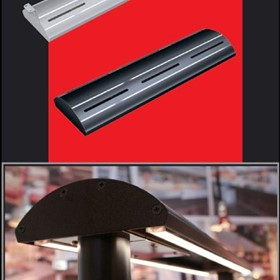 GLO-MAX GM5AH Curved Infrared Strip Heaters