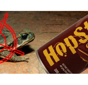 Humane Spray for the Control of Cane Toads | HopStop