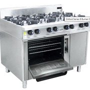 8 Burner | Cooktop w/ Gas Oven (on left hand side)