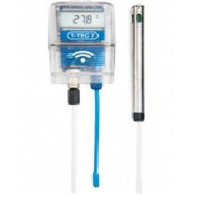 Wireless temperature and humidity data logger (T-TEC C)