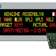 Industrial LED Master Display
